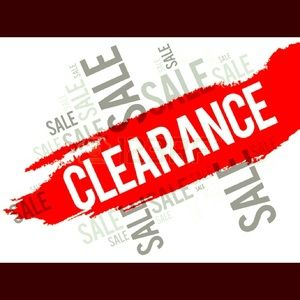Other - NO ADDITIONAL DISCOUNTS ON CLEARANCE ITEMS !! 🎉☹️